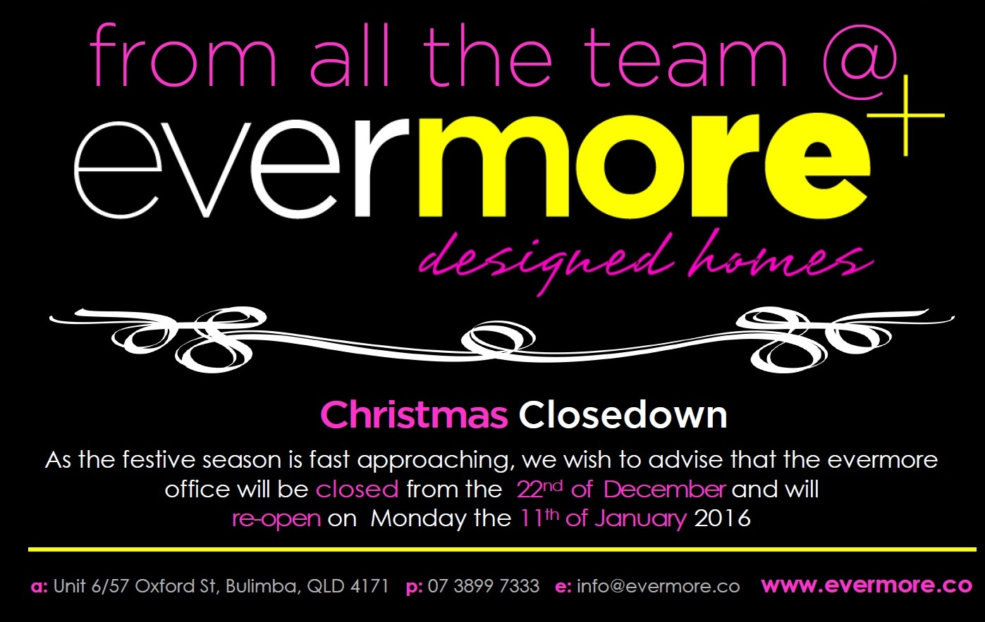 more+ joy to you this Christmas closedown